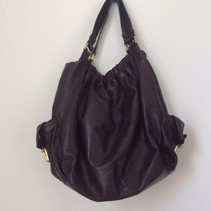 Marc by Marc Jacobs Large Leather Plum Purse